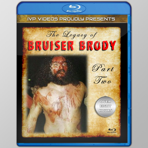 Legacy of Bruiser Brody V.2 (Blu-Ray with Cover Art)